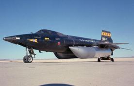 X-15 con tanques externos