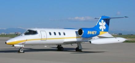 Un Learjet 35