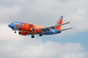 B-737 de Southwest al estilo NBA