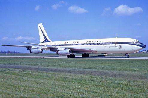 B-707 de Air France en 1972.