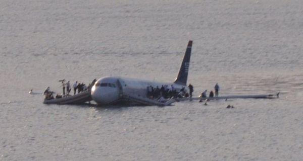 Vuelo 1549 de US Airways que acabó sobre el río Hudson