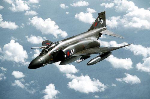 Un F-4 Phantom de la Royal Air Force
