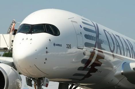 ¿Por qué el A350 lleva unantifaz?
